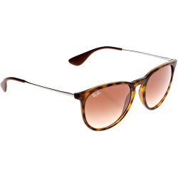 Ray Ban Erika Rubber Havana poly brown gradient