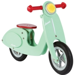 Janod Scooter Springcykel Mint