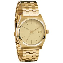 Nixon The Time Teller all gold gold