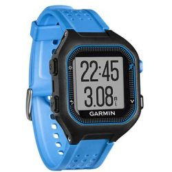 Garmin Forerunner 25 GPS Running Watch Large Svart Blå