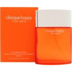 Clinique Happy Cologne Spray Eau de Toilette 100ml Sprej