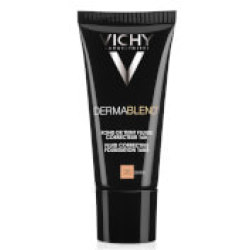 VICHY Dermablend Corrective Fluid Foundation 30ml (Various Shades) Sand 35
