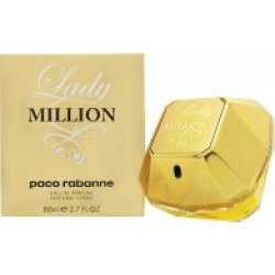 Paco Rabanne Lady Million Eau de Parfum 80ml Sprej