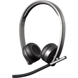 Logitech Wireless Headset Dual H820e Svart