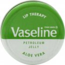 Vaseline Lip Therapy Tin Aloe Vera 20g