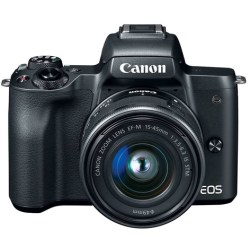 Canon Eos M50 Ef m 15 45mm F 3.5 6.3 Is Stm